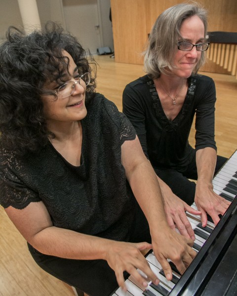 Composer Gabriela Lena Frank joins pianist Susan Smith and the rest of Third Angle New Music this weekend.