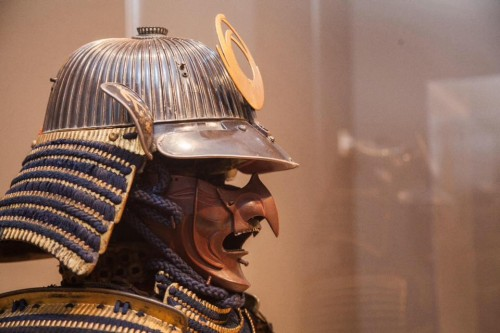 Power & glory, helmet & mask. Photo: Portland Art Museum