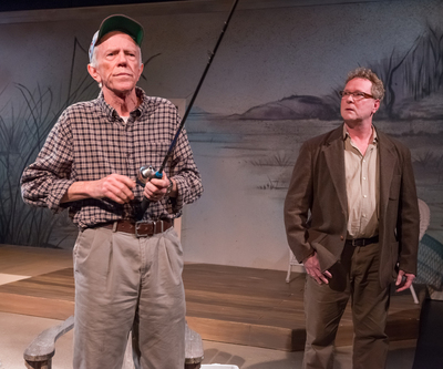 """Tobias Andersen and Gary Norman in CoHo's """"The Outgoing Tide""""/Brud Giles"""