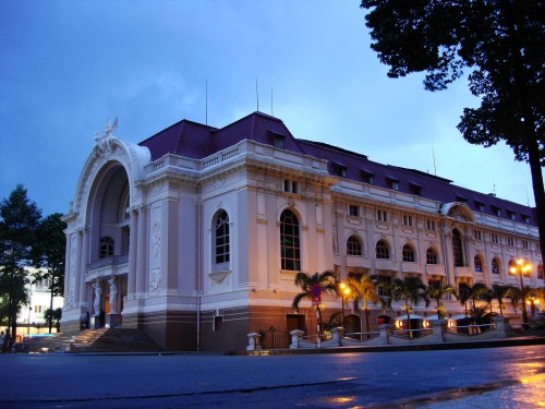 The French Colonial-style opera house. Photo: Wikimedia Commons