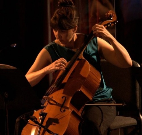 Oregon Symphony cellist Nancy Ives plays chamber music in Vancouver.