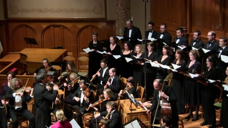 "Cappella Romana joined Portland Baroque Orchestra in Handel's ""Messiah."""