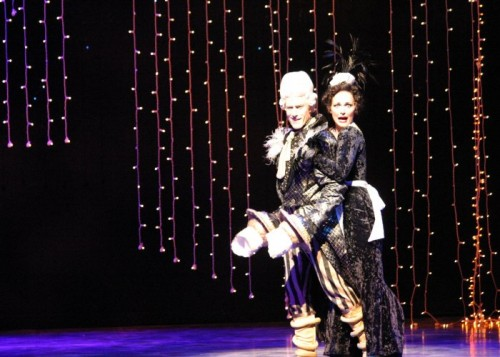 Johanne and Wheatley, getting whoop-de-doo. Pixie Dust Productions