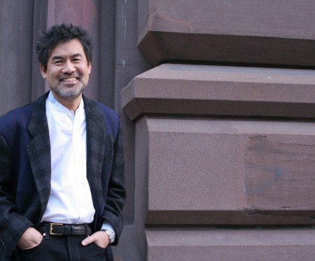 David Henry Hwang at the Public Theater in New York in 2008/Photo by Lia Chang
