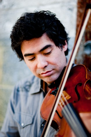 Portland composer and violist Kenji Bunch performs with 45th Parallel Saturday in Portland.