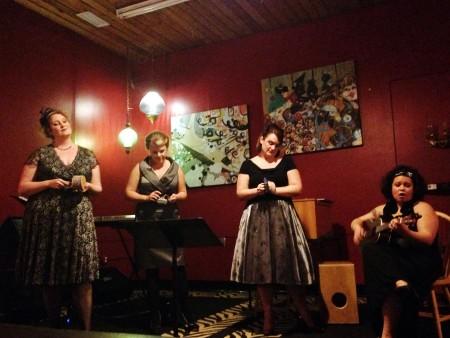 The Julians perform Feb. 8 in Portland.