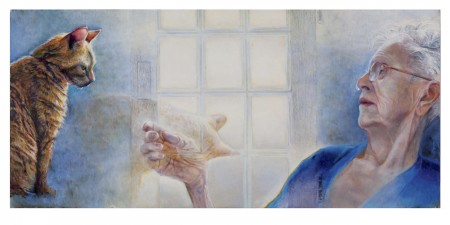 Debra Beers, 'Cleo's Farewell', 2013, at Lewis & Clark's Hoffman Gallery through March 9
