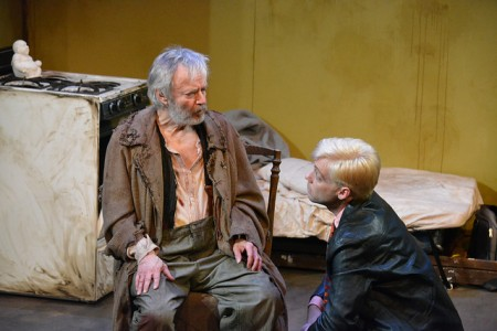 Allen Nause and Jeffrey Gilpin in 'The Caretaker'/Photo Jerry Mouawad