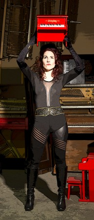 Pianist/composer Jennifer Wright