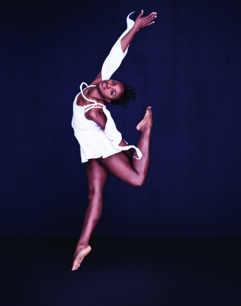 """Davalois Fearon in Stephen Petronio's """"Like Lazarus Did""""/Photo by Sarah Silver"""
