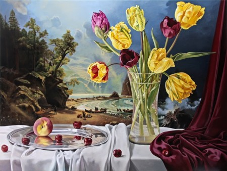 """Sherrie Wolf, """"Still Life With Puget Sound""""/Laura Russo Gallery"""