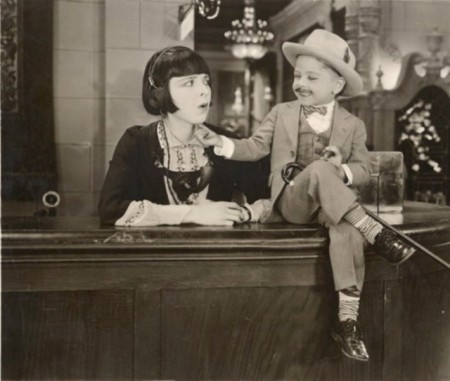 "Mickey before he was Mickey, with Colleen Moore in 1927's ""Orchids and Ermine."""