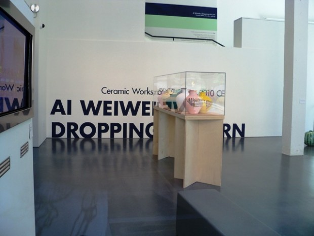 "Namita Gupta Wiggers brought Ai Weiwei's ""Dropping the Urn"" to Portland in 2010."