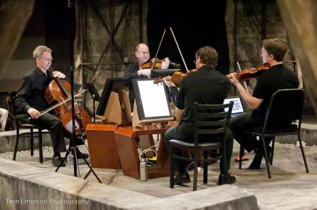 Third Angle New Music string quartet plays works by emerging composers Friday.