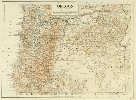 Oregon in the 1911 Brittanica encyclopedia/Wikimedia