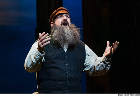 "David Studwell took top actor honors for his Tevye in best-production winner ""Fiddler on the Roof."" Photo: Patrick Weishampel"