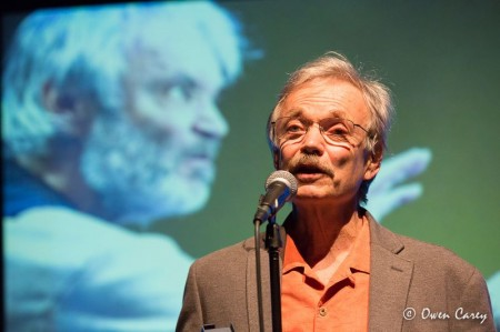 "Best actor winner Allen Nause,"" ""The Caretaker"" at Imago. Photo: Owen Carey"
