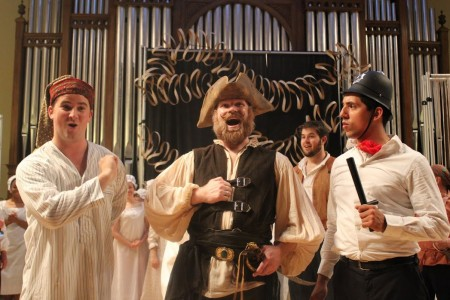 Marylhurst University stages The Pirates of Penzance.