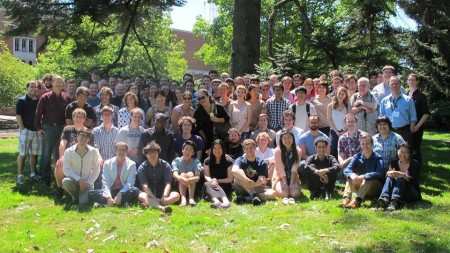 Members of this year's Oregon Bach Festival Composers Symposium. Photo: OBFCS.