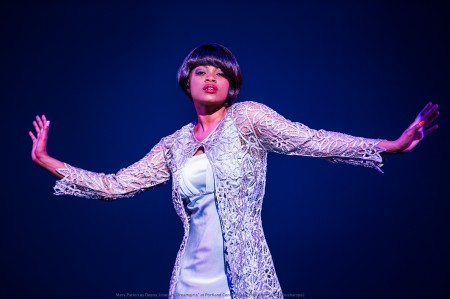 Mary Patton as Deena Jones (NOT Diana Ross). Photo: Patrick Weishampel.