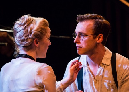 Jennifer Davies and Andrew Bray as Lucille and Leo Frank. Photo: Russell J. Young