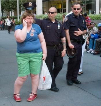 Haley Morris-Cafiero, Wait Watchers: Cop, 2014.