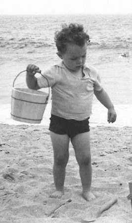 Stuart Dempster, Hermosa Beach, 1938. Photo by Fred H. Dempster.