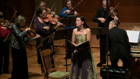 Amanda Forsythe starred with Portland Baroque Orchestra. Photo: Mark Powell.