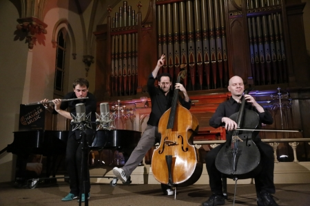 PROJECT Trio performed at The Old Church.