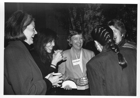 By my calculus, Julie Mancini, second from left, was one of the founders of Literary Arts./Photo from the Literary Arts website