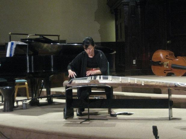 Mitsuki Dazai performs Tomas Svoboda's haunting Autumn on the koto.