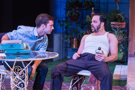 "Ferrucci and Newman in ""True West: brotherly hate. Photo: David Kinder"