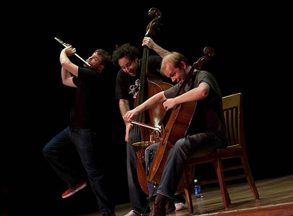 Brooklyn's PROJECT Trio performs in Portland and Eugene.