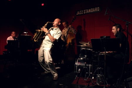 Miguel Zenon performs with his quartet Friday at Portland's Jimmy Mak's.