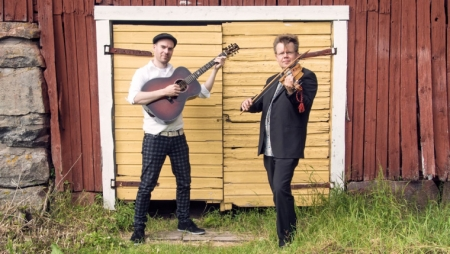 Arto and Antti perform in Eugene, Portland, and Ashland next week.