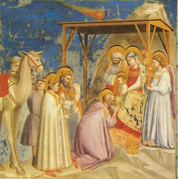 """Dinnerstein will play music by American composer George Crumb inspired by Giotto's """"Adoration of the Magi."""""""