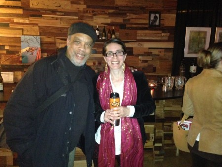 """Alan Alexander III of """"Alan's Confectionery (the musical),"""" with Megan Bradley of """"Me Here Now."""" Photo: Fertile Ground"""