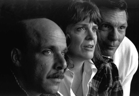"""Ted with Vana O'Brien and Keith Scales in Cygnet's """"Faith Healer."""""""