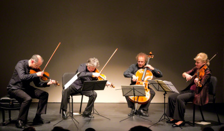 The Takacs Quartet performed last year at Portland State University. Photo: John Green.