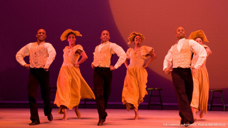 "The Alvin Ailey company in ""Revelations."" Photo: Nan Melville"