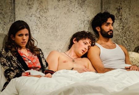 Attallah, Franzen, Rains: and stranger makes three. Photo: Patrick Weishampel