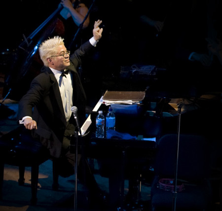 Pink Martini founder/pianist Thomas Lauderdale returns to perform with the Oregon Symphony March 14-16.