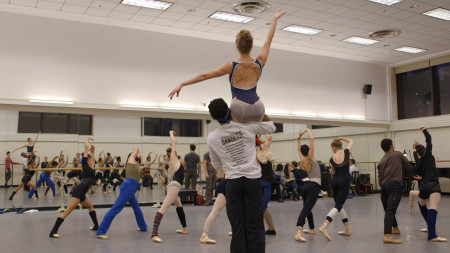"Scene from ""Ballet 422."" Photo courtesy Magnolia Pictures."""