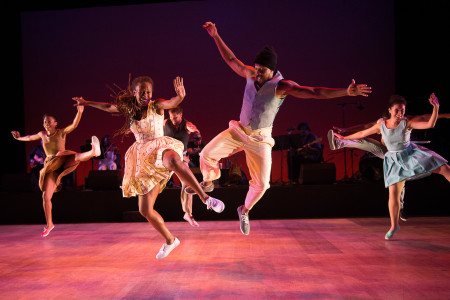 Dorrance Dance taps out the Blues Project/White Bird