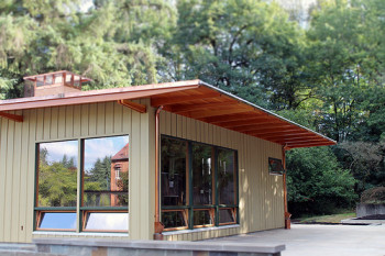 The Belluschi Pavilion at Marylhurst University.