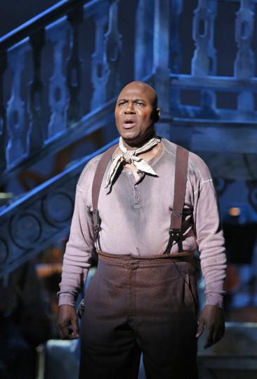 """Arthur Woodley, as Joe, delivers """"Ol' Man River."""" Photo: Cory Weaver"""