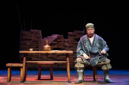 Tao (Eugene Ma) contemplates where his wife might be. Photo: Jenny Graham.