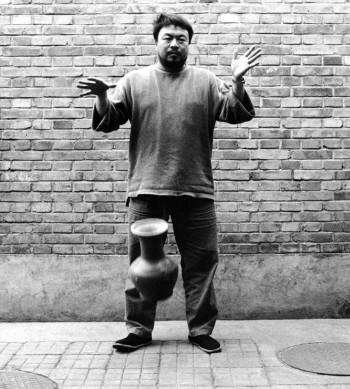 """Ai Weiwei, """"Dropping a Han Dynasty Urn""""/Museum of Contemporary Craft"""