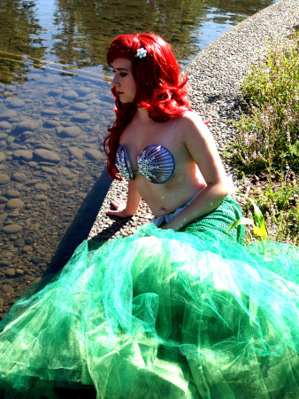 "Erica as Ariel in ""The Little Mermaid""/Photo by jessica Graham"