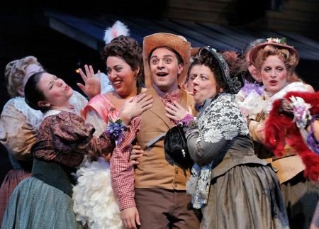 Portland Opera's The Elixir of Love opens Friday. Photo: Corey Weaver.